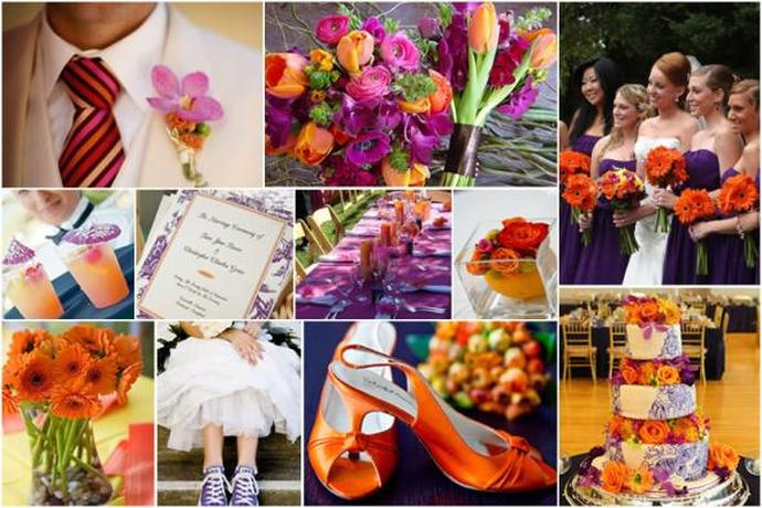 Pink Orange And Green Wedding Ideas. patterns wedding trends perfect ...